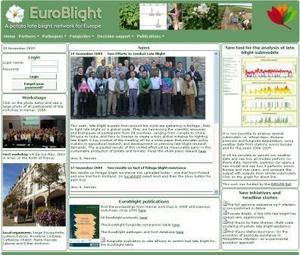 EuroBlight home page