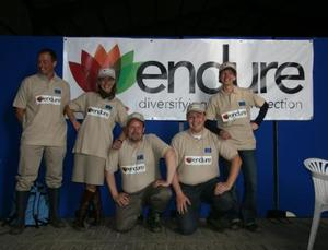 ENDURE IC team at Cereals