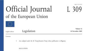 Official Journal of the EU